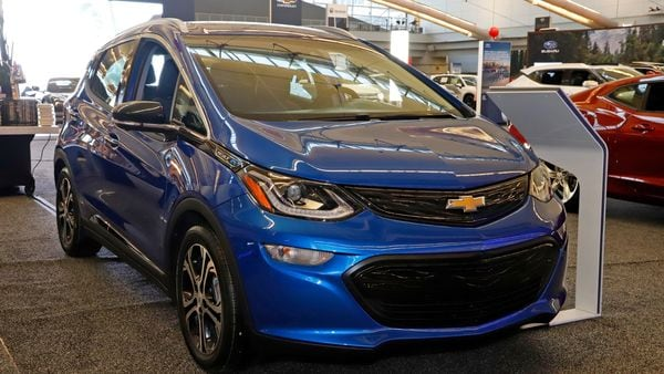 LG and GM are actively working with each other to come up with a final recall plan in order to fix the battery-fire issue in more than 140,000 Chevrolet Bolt EVs. (AP)
