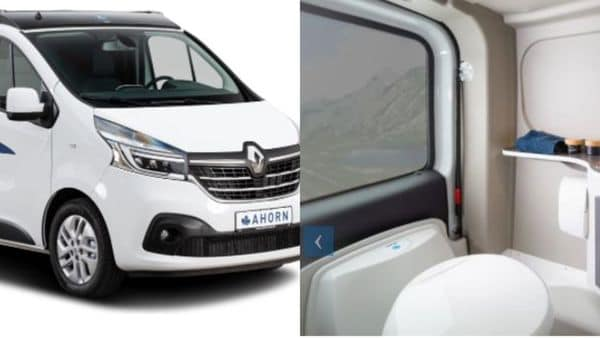 The Van Big City camper vehicle is just under 18 feet long but has a standard-height roof.