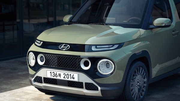 Hyundai Casper will get a prominent radiator grille, round head light units, sizeable wheel arches and distinctly curving body lines.