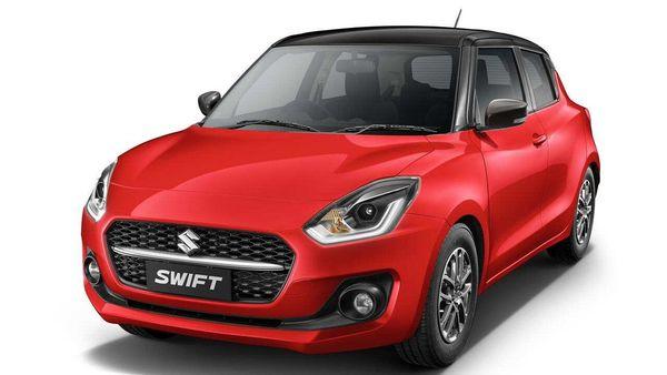2021 Maruti Swift gets three new dual tone options.