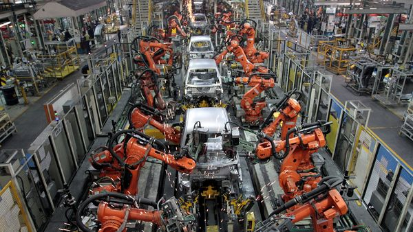 File photo: Ford cars are assembled at a plant of Ford India in Chengalpattu, on the outskirts of Chennai. (REUTERS)