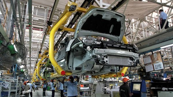 File photo: Workers assemble Ford cars at a plant in Chengalpattu on the outskirts of Chennai. (REUTERS)