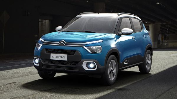 Citroen C3 SUV is will come with a flex-fuel engine. This is a 1.2-litre turbocharged motor that belts out 130 bhp. It is integrated into an automatic gearbox as well as a five-speed manual unit. The SUV will come in four colour options. Apart from the Orange-White dual-tone exterior colour, the car also gets Orange-Black, Blue-White and Grey-Black combinations.