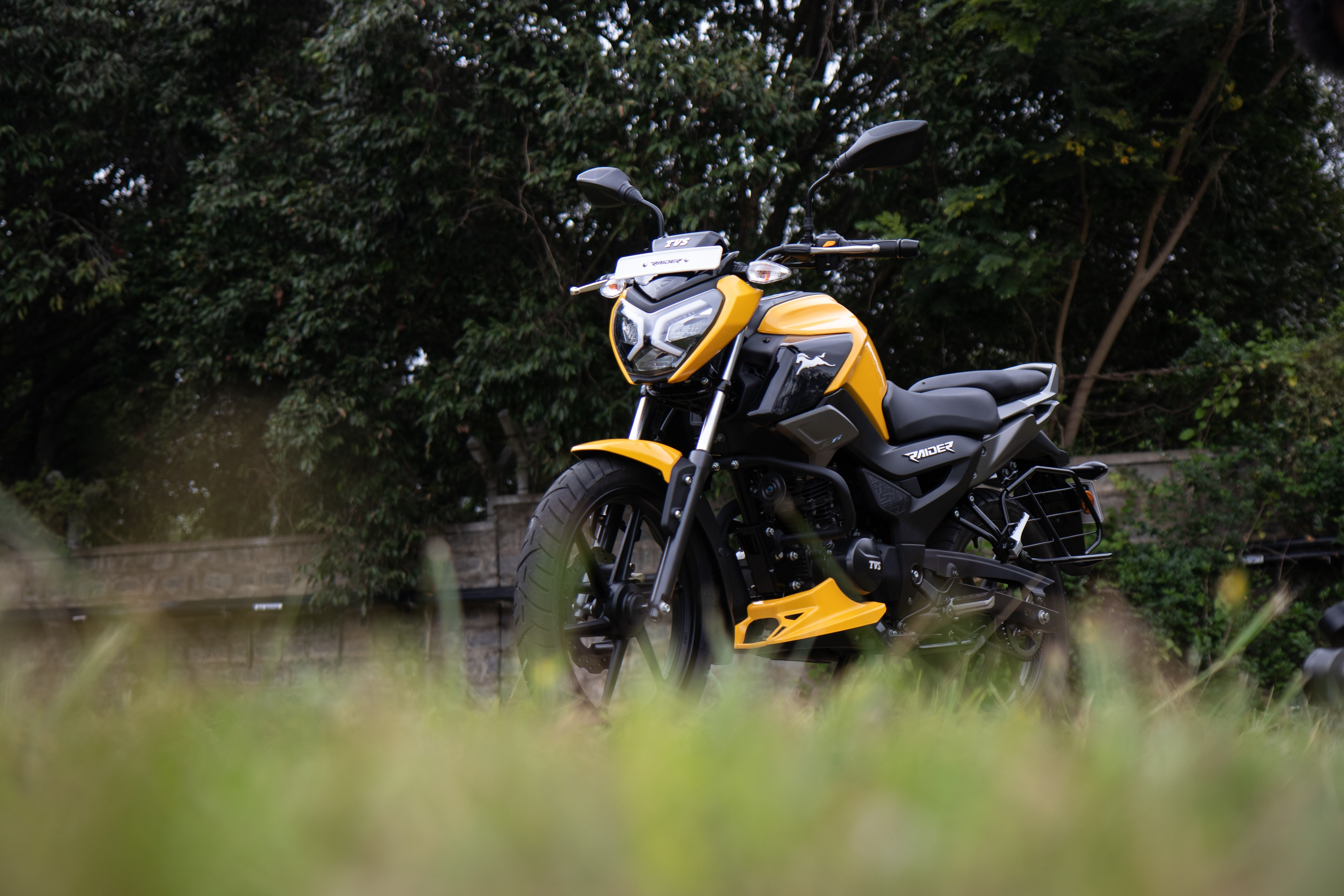 The TVS Raider is a very uniquely positioned product that appears to be a sportier offering but not at the cost of burning a hole in your pocket.