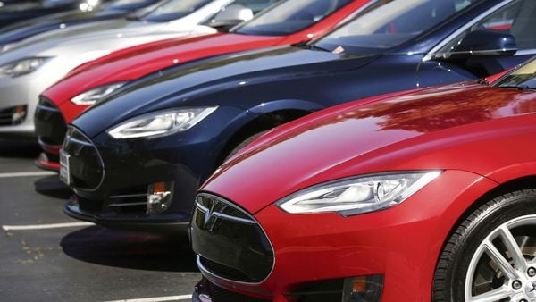 Tesla set up its Indian unit last year, signalling its intention to enter the potential growth market for electric cars. (File photo) (MINT_PRINT)