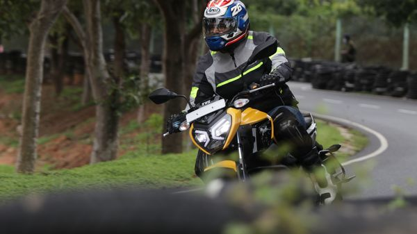 Image of the newly launched TVS Raider 125.
