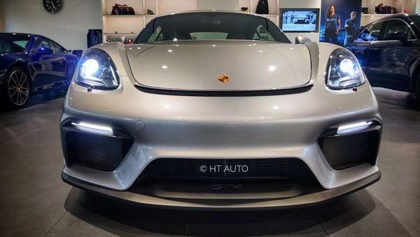 Porsche 718 Caymen GT4 is priced at ₹1.63 crore (ex-showroom) in India.