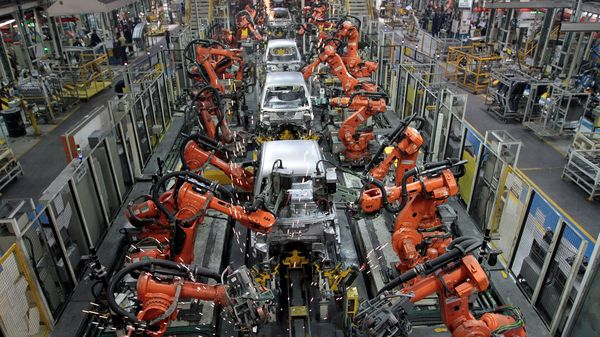 The global auto industry has been facing massive disruption due to the latest chip crisis. (REUTERS)