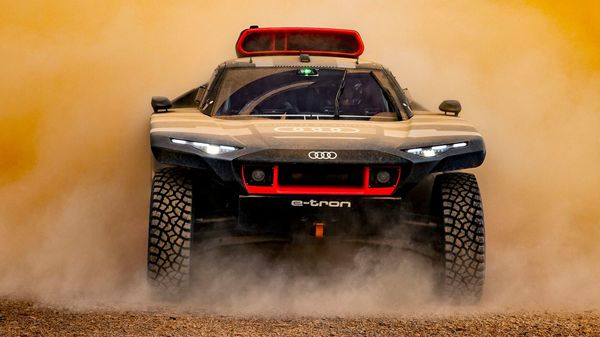 Audi has put the RS Q e-tron through extreme conditions to test its endurance before its debut at the Dakar rally next year.