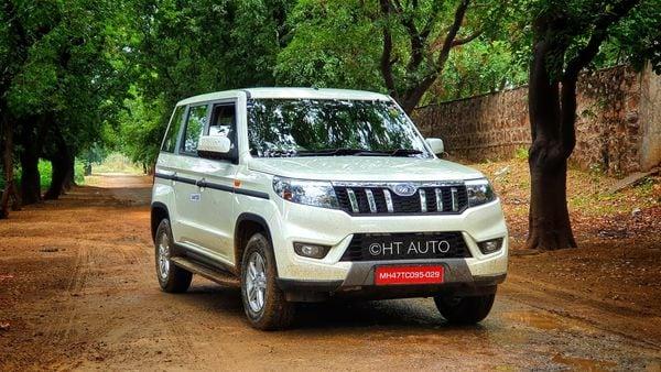 Mahindra launched the new generation Bolero SUV at a starting price of ₹8.48 lakh. (Photo credit: Sabyasachi Dasgupta/HT Auto)