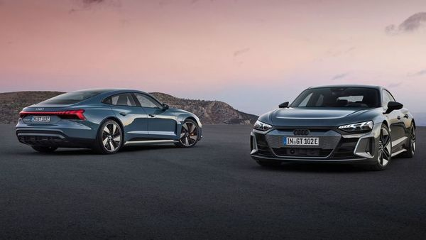 Audi will drive in both e-Tron GT and the RS model of the electric car in India on September 22.