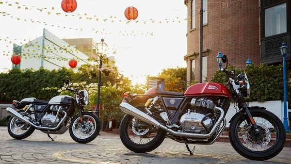 Royal Enfield Continental GT 650 cafe racer