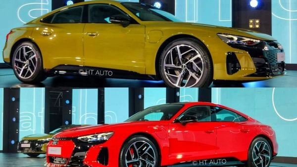 Looks may be subjective but there is perhaps no denying that the Audi e-tron GT is likely to get admiring stares from an overwhelming majority.