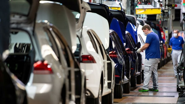 File photo of an auto assembly line used for representational purpose only (REUTERS)