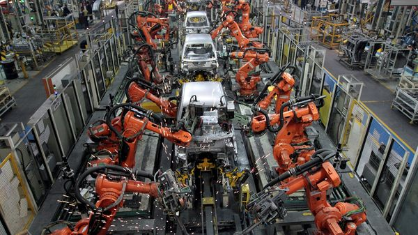 File photo: Ford cars being assembled at a plant of Ford India in Chengalpattu, on the outskirts of Chennai. (REUTERS)