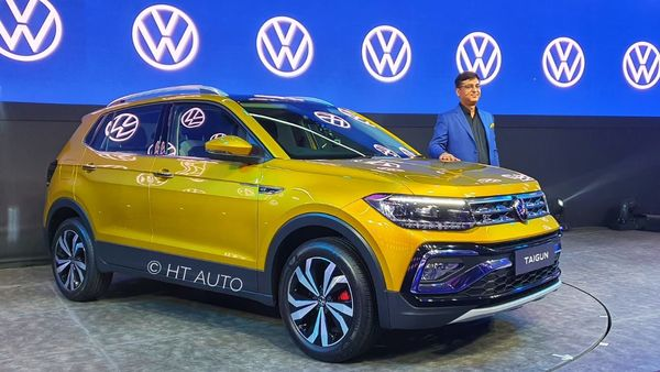 Volkswagen Taigun is aimed at a younger car-buying audience.