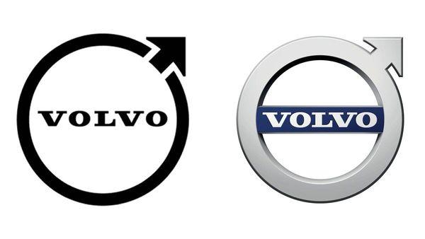 Volvo updates brand identity, changes logo to a flat one like Kia, Toyota, Volkswagen.