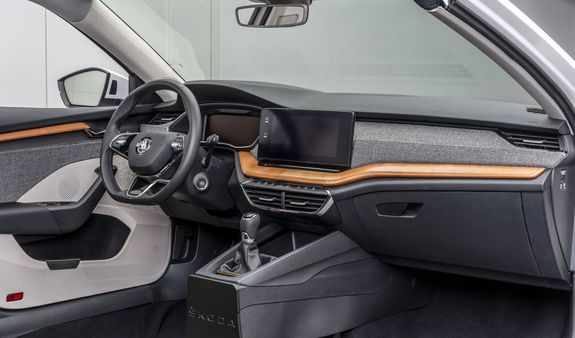 The demonstrative model of Skoda Octavia model which is being used for the trail has interiors made of eco materials. (Skoda)