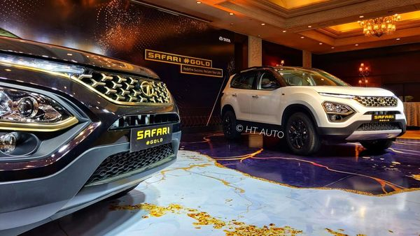 Safari Gold Edition comes in two exterior colour options - Black Gold and White Gold. (HT Auto)