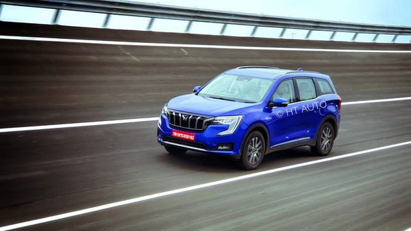 Mahindra XUV700 is looking at gaining some of the lost ground that the company ceded to rivals in the SUV space. (HT Auto/Sabyasachi Dasgupta)