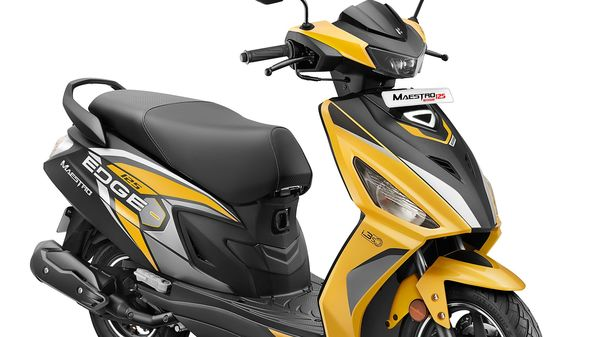 The new Hero Maestro Edge gets the first-in-segment LED projector headlamp.
