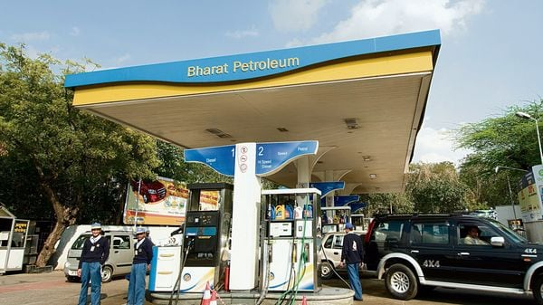 BPCL plans to set up EV charging infra at its pumps, to invest ₹1 lakh crore. (File photo) (MINT_PRINT)