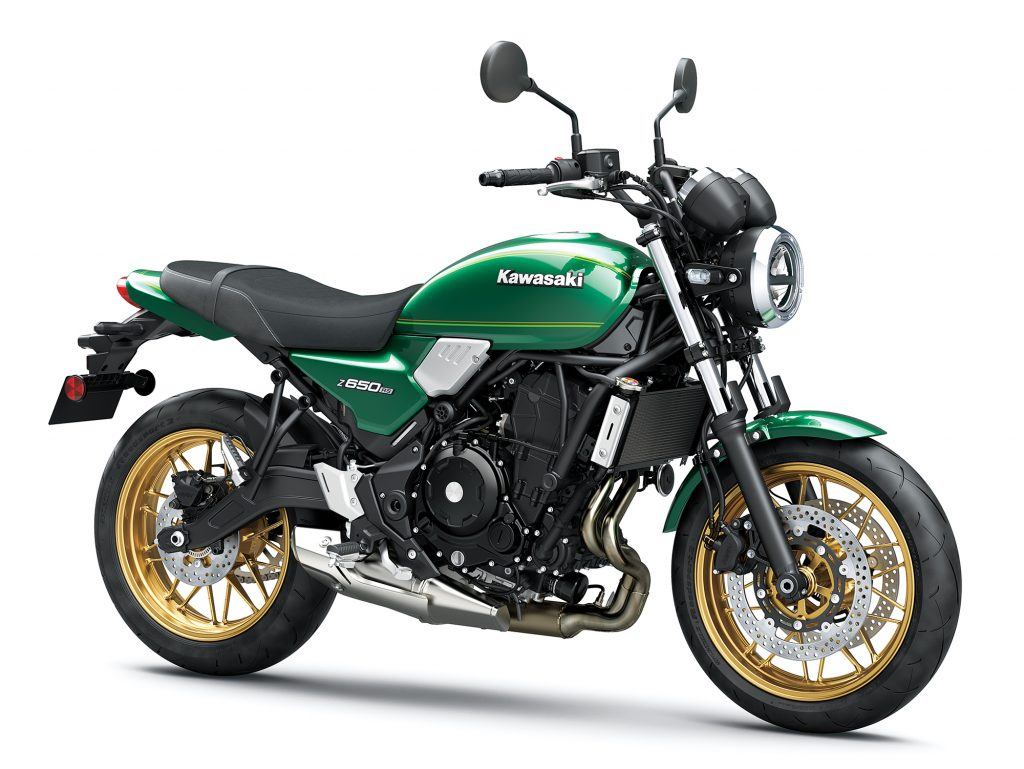 The new Kawasaki Z650RS comes based on the already available Z900RS bike but uses a smaller 650cc platform from the Ninja 650 and the Z650 bikes.