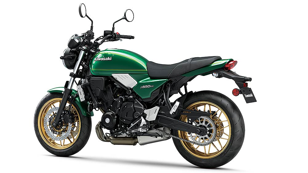 The Kawasaki Z650RS will set sight on other retro-classic models including the Triumph Bonneville range.