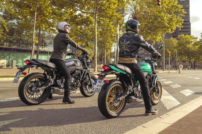 Apart from the powertrain, the Z650RS also shares a majority of its hardware components with the Z650/Ninja 650 bikes.