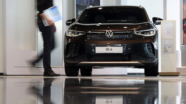 Volkswagen ID.4 is the best-selling electric vehicle across Europe. (Bloomberg)