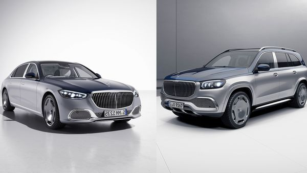 Mercedes-Maybach S 680 4MATIC Edition 100 (L) and Mercedes-Maybach GLS 600 4MATIC Edition 100 (R)