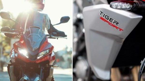 Triumph Tiger Sport 660 will feature a half-fairing design with a tall windscreen.