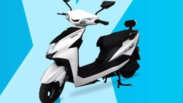 Komaki XGT-X1 electric scooter.