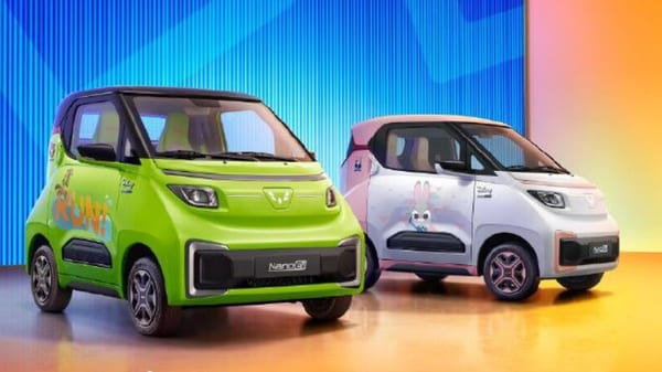 Wuling Hong Guang, a China-based carmaker introduced the new electric car Nano EV. It was showcased at the 2021 Tianjin International Auto Show.