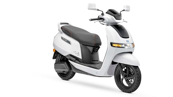 Representational image of TVS iQube e-scooter.
