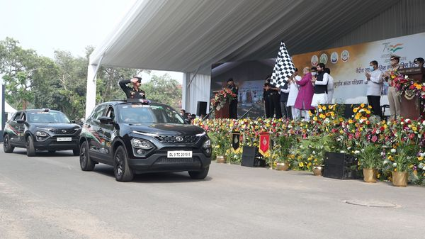 The landmark rally was flagged off by Amit Shah, Minister of Home Affairs, Government of India.