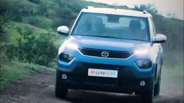Tata Punch micro SUV will be offered with multiple terrain modes to make it more capable of tackling different types of road conditions. (Photo courtesy: Twitter/@TataMotors_Cars)