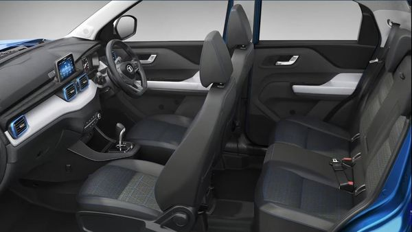 The fourth Persona trim of Tata Punch gets rain-sensing wipers, electric ORVMs, auto temperature control, cooled glovebox, leather-wrapped steering and gear knob, and iRA connected technology.
