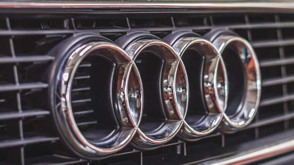 File photo of Audi logo.