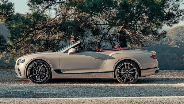 Bentley in heritage colour Dove Grey. (Bentley)