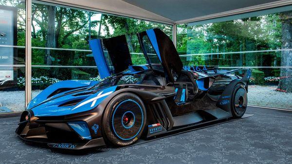 Bugatti Bolide comes with W16 quad-turbocharged engine. (Bugatti)