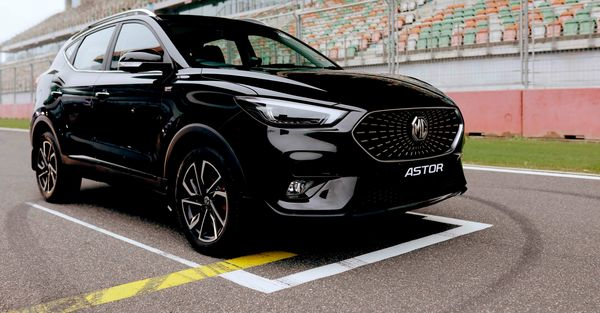 MG Astor SUV is essentially the ICE counterpart of the MG ZS EV.