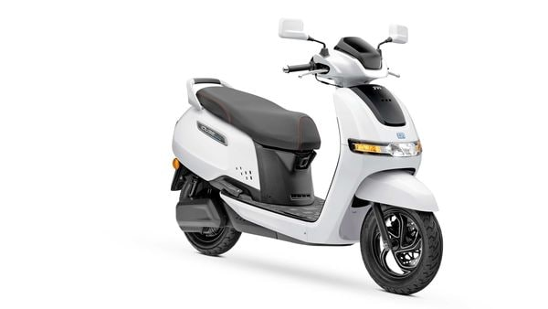 File photo of TVS iQube electric scooter
