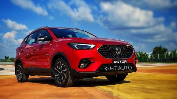 Astor from MG Motor India will be the company's fifth launch here. (Photo credit: Sabyasachi Dasgupta/HT Auto)