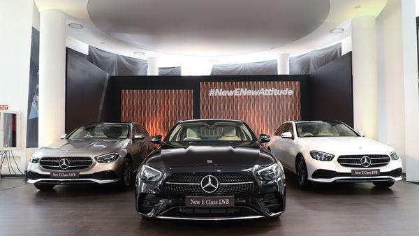 Mercedes-Benz E-Class LWB dominates the car brand's sales performance.