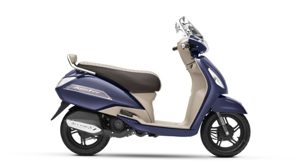 Representational Image of BS 6-compliant Jupiter Classic scooter.