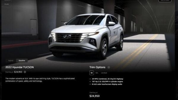 Prospective customers can check out desired Hyundai models on the Amazon US platform and even configure these.