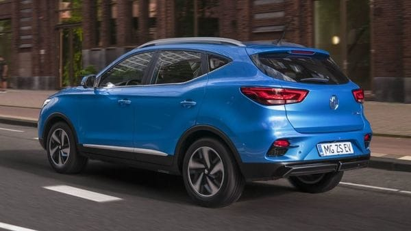 The new taillights give the rear profile of the electric car an edgy look. MG ZS EV also features redesigned alloy wheels adding more visual appeal.