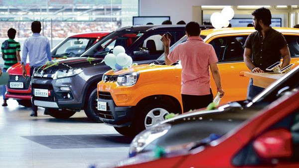 File photo of a car showroom used for representational purpose. (MINT_PRINT)