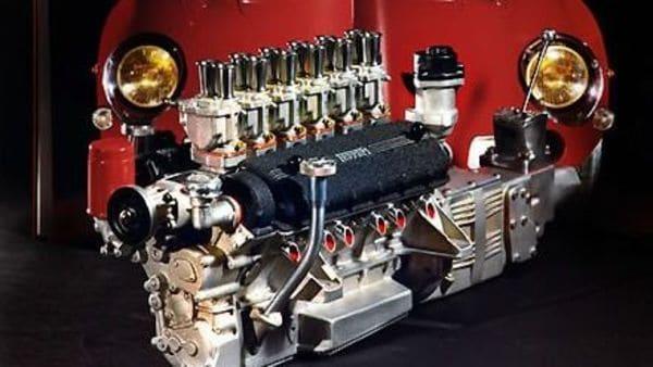 ⅓ scale Ferrari engine replicas